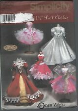 """5800 Simplicity ~ 11-1/5"""" Fashion Doll Clothes - Teresa Nordstrom"""