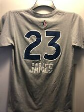 ce1974fc2160a7 LeBron James  23 Adidas Gray All-Star T-SHIRT Size Adult Small