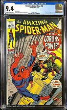 Amazing Spider-Man #98 CGC 9.4 OW/W NM Perfect w/Gorgeous Eye Appeal! Drug Issue