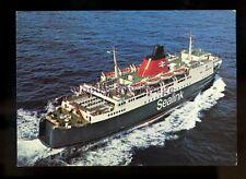 FE2630 - Sealink Ferry - Hengist , built 1972 - postcard