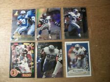 BARRY SANDERS 17 card lot UD, Flair, Finest, SC, Certified, Pinnacle, Playoff