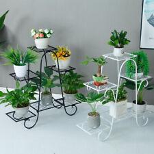 Metal Flower Pot Plant Stand Balcony Floor-standing Multilayer Shelf Rack 6-Tier