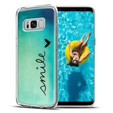 Handy Tasche Samsung Galaxy S8 Plus Schutz Hülle Silikon Cover Backcover Case