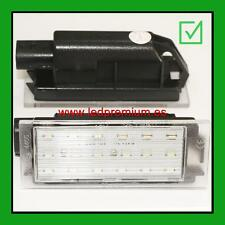 2x LED NUMBER PLATE LIGHTS RENAULT MEGANE 4 IV CANBUS