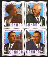 Canada 1991 Sc1305aMi1218-21bl mnh Doctors