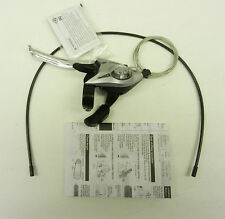 NEW SHIMANO ST-E51  3 SPEED SHIFTER WITH BRAKE LEVER CABLE AND HOUSING