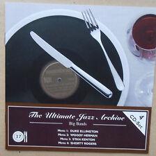 The Ultimate Jazz Archive 37 - Big Bands - Duke Ellington, Stan Kenton - 4 CD's