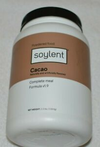 NEW Soylent Cacao (Chocolate) Plant Protein Meal Replacement Powder, 36.8 oz