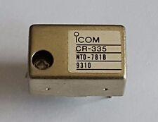 CR-335 ICOM TCXO temp. kompensierter Quarz 12,8MHz