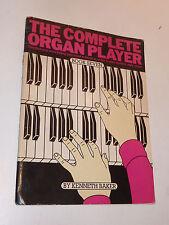 1977 ancien METHODE kenneth baker THE COMPLETE ORGAN PLAYER de piano CLAVIER