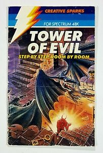 Espectro 48K Torre Of Evil Manual/Manual Instrucciones Creative Sparks 1984