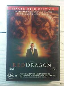 Red Dragon (DVD, 2004) Thriller Anthony Hopkins