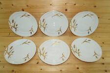 """Meito Midas White (6) Salad Plates, 7 3/4"""""""""""