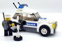 LEGO POLICE CRUISER CAR POLICEMAN RADAR DETECTOR CITY TOWN MINIFIGURE MINIFIG