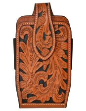 New listing 3D Western Cell Phone Case Leather Smartphone Acorn Natural Dph656