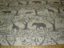 "18.3m ~ REAL "" TARO ""Safari Animales ~ Con para Base Tela Tapizar menos"