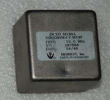 morion 10mhz Double oven ultra precision OCXO <2x10-12 SINEWAVE