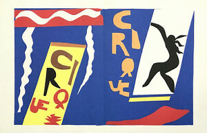 """Henri Matisse lithograph from Jazz """"Le Cirque"""""""