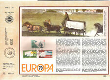 CYPRUS 1979 EUROPA THE HISTORY of POSTAL and TELECOMMUNICATION SERVICES FDC CARD