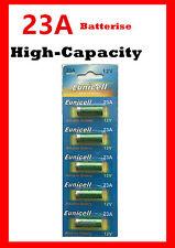 5 piece 23AE 21/23 GP23 A23 23A 23GA MN21 12V Card alkaline battery 2yrs