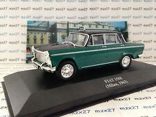 VOITURE TAXI DU MONDE FIAT 1500 TAXI MILAN 1963 1/43EME IXO