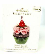 2012 Hallmark Berry-licious! Christmas Cupcake Ornament Series #3