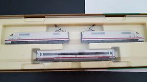 Minitrix   N 12996 - ICE Triebzug 3-teilig - in OVP (85)