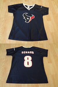 Women's Houston Texans Matt Schaub L NFL Team Apparel Jersey