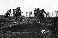 7x5 Foto ww1D50 Guerra Mondiale 1 Tedesco Guerra Tegenaanval