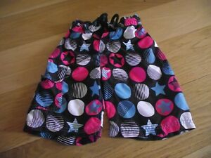 Boys spot and star swimming/board shorts 5-6 years NEXT