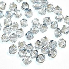 SCB3129f Blue Shade 4mm Faceted Xilion Bicone Swarovski Crystal Beads 48pc