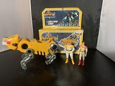 Voltron action figure panosh place world event vtg toy box Yellow Lion chunk