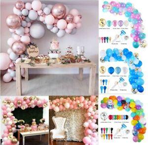 Balloons+Balloon Arch Kit Set Birthday Wedding Baby Shower Garland Party Decor