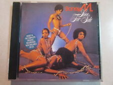 BONEY M. LOVE FOR SALE 10 TRK 1996 EUROPEAN PRESS BMG ARIOLA CD W/CCR COVER OOP