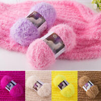 Soft Knitting Faux Fur Mohair Wool Cashmere Mink Yarn Crochet For Baby Sweater