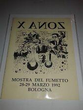MARTIN MYSTERE-ZONA X - ALBETTO X ANOZ - MOSTRA BOLOGNA 1992 - RARO