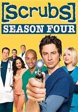 Scrubs The Complete Fourth Season 3 Discs (2006 DVD New)