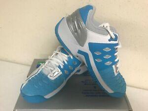 Yonex Women's SHT-308L Power Cushion Tennis Shoe Wht/Ocean Blue