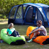 Air Sleeping Bag Lazy Chair Inflatable Lounge AirBeds Beach Sofa Bed Water Float
