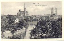 Breslau, Domkirche und Kreuzkirche, um 1930/40