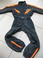 ELLESSE SKI SUIT mens small medium ladies Uk 12 14 retro vintage festival orange