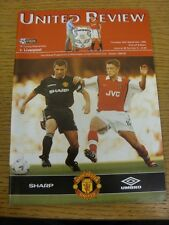 24/09/1998 Manchester United v Liverpool [Trebble Season] . We try and inspect a