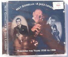 Sealed NAT GONELLA A Jazz Legend Through The Years 1930-1998 CD UK 1998 Avid