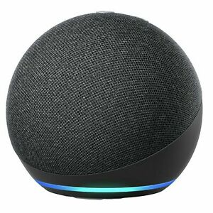 Amazon Echo Dot 4th Gen Smart Speaker With Alexa- Black