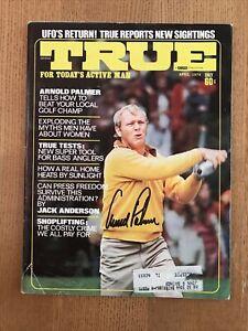 Arnold Palmer Signed Autographed April 1974 True Magazine PGA HOF JSA THE KING