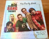 Big Bang Theory The Party Game Brand New Sealed