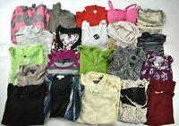 Wholesale Lot of 21 Women's Small Casual Shirt Blouse Sweater Mixed Season Tops