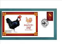 2017 YEAR OF THE ROOSTER SOUVENIR COVER- MINORCA #2