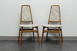 FAARUP MOBELFABRIK Solid Teak Danish Mid Century Modern Dining Chairs - Pair