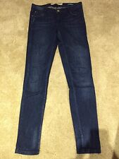 ZARA TRF, Flecked Skinny Jeans, UK10